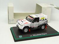 Cararama 1/43 - Mitsubishi Pajero París Dakar 1998