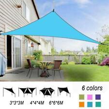 3 Sizes Waterproof Triangle Outdoor Garden Canopy Patio Shade Net Sun Shade Sail