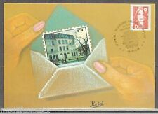 1991//FDC CP I°JOUR**BICENTENAIRE..MARIANNE.ADHESIF//OBL.VOIRON..TIMBRE Y/T.2713