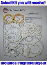 1979 Bally Kiss Pinball Machine Rubber Ring Kit