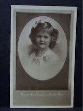 Princess Maria Daughter Maria Anna of Austria & Duke Elias Parma Italy Postcard