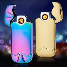 Elettrico Ricaricabile DOPPIO Arc Pulse Plasma Sigarette USB Accendino