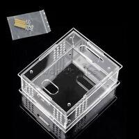 Transparent Acrylic Case Shell Box DIY Kits ZVS Tesla Coil Flyback Driver Board
