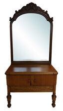 "Vintage Childs Walnut Dresser Circa 1920's, 58""H, Pa4726"