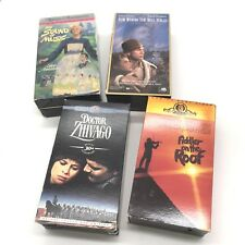 4 VHS tape Box Set Movies Sound of Music Doctor Zhivago Fiddler on Roof Plus One