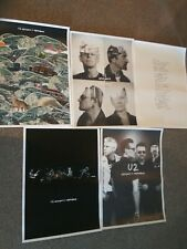 U2 Innocence + Experience Concert Tour Poster Set Of 5