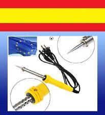 SOLDADOR MANUAL eléctrico soldar estaño reparar ordenadores 220V-240V 30W AC CC