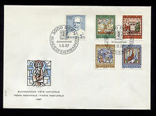 OPC 1967 Switzerland Charity FDC Sc#B365-B369 Unaddressed