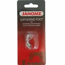 Janome Gathering Foot for Oscillating Hook Models (5mm maximum width) 200124007