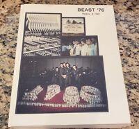 1976 US Air Force Academy Beast Basic Cadet Training USAFA Colorado Yearbook