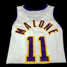 Karl Malone Los Angeles Lakers Nike Jersey men's size XL length + 2 Post Malone