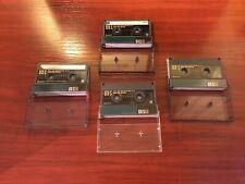 4 cintas cassette cromo Sony UX-S 90 chrome tapes