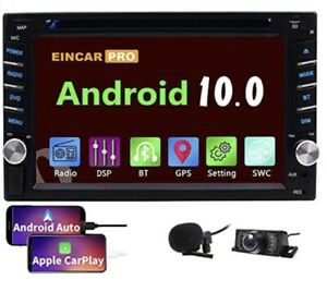 Android Auto Double Din Car Stereo Compatible with Apple CarPlay DVD Player Wifi