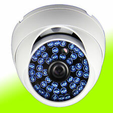 Wide 2.8mm AHD 2.0MP 1080P 48LED IR CCTV Waterproof Security Dome Camera White//