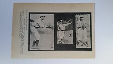 Harry Bemis Ira Thomas Jim Stephens 1907 Lajoie In-Action  Picture