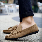 Men's Driving Moccasin Leather Loafers Casual Tassel Shoes 2018 New Fashion