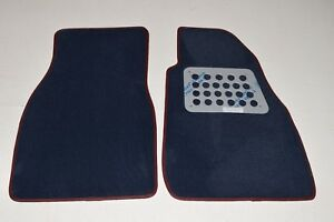 ALFA SPIDER 90-93 premier tailored car mats NAVY EVO AUTOSTYLE A195 RRP £70,-