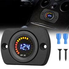 LED Panel Digital Meter Display Voltage Voltmeter Car Motorcycle Durable