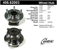 Axle Bearing and Hub Assembly-Premium Hubs Rear Centric 406.62003