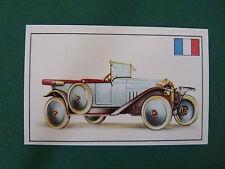 N°76 CITROËN TYPE A FRANCE 1919 PANINI 1972 HISTOIRE DE L'AUTOMOBILE