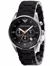 Emporio Armani Sportivo Black/Silver Quartz Analog Men's Watch AR5858