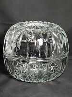 VTG Homco Fairy Lamp Candle Holder, Crystal Glass Ball
