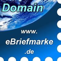 www.ebriefmarke.de - Domain / Internet-Adresse / Web-Adresse / URL - Philatelie