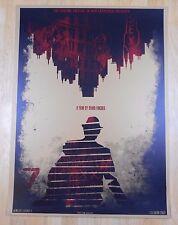 Se7en / Seven | Castro Theatre Movie Poster | David O'Daniel | Alien Corset