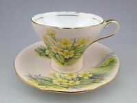 Vintage Aynsley Art Deco Style Floral Tea Cup and Saucer