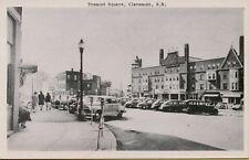 VTG Street Scene Tremont Square in Claremont New Hampshire NH Postcard