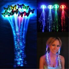 Birthday Party Gift Bags Fiber Optic Hair Lights LED Halloween Costume Clips