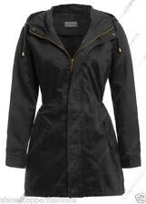 Cappotti e giacche da donna neri in cotone taglia 42