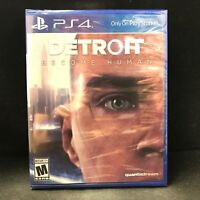 Detroit Become Human (PS4) BRAND NEW / Region Free