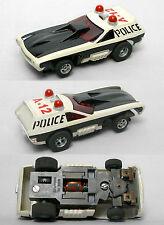 1976 Aurora AFX G+'ish Smokie's POLICE VEGA HO Slot Car Screecher #5801 Unused