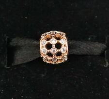 Authentic PANDORA Rose Gold In the Spotlight Openwork Charm 780825CZ