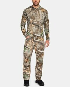 Under Armour UA Storm Field Ops Hunting Pants RealTree Edge 1313212-991 Sz 30/34