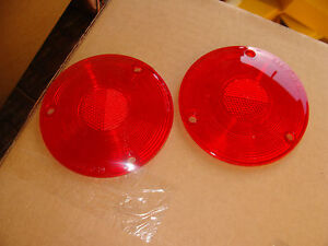 1961-1967 Econoline & 64-66 4X4  & 1957-1963  Ford pickup tail light lenses