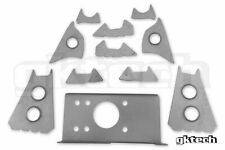 GKTech V2 Subframe Weld In Reinforcement Plates for Nissan S13/180SX/R32