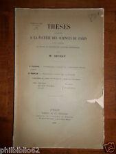CONTRIBUTIONS à ETUDE HYMENOPTERES ENTOMOPHAGES / M SEURAT / Entomologie 1899