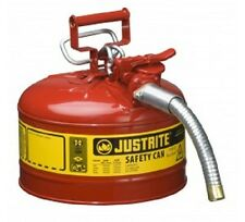 Safety Can  9.5 litre Type 2 Justrite for flammable liquids -7225130