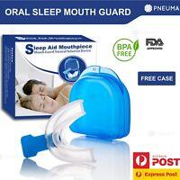 Anti Snore Mouthpiece Reusable Sleeping Guard For Apnea - Drug Free
