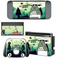 Anime My Neighbor Totoro Nintendo Switch Consoles Joy-Con Dock Vinyl Skin Decals