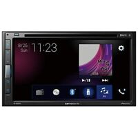 Carrozzeria Pioneer Car Audio Main Unit 2DIN CD/DVD/USB/Bluetooth FH-6500DVD