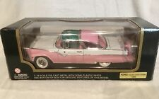VINTAGE MINT IN BOX 1955 FORD FAIRLANE CROWN VICTORIA 1:18 SCALE MODEL