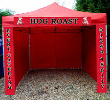 Heavy Duty Gazebo Catering Trailer Market Stall Aluminium Pop Up Bar Tent Pub
