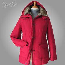 Jacke * Warme Winter Jacke Steppjacke & Kapuze und Webpelzkragen Gr.36 - 42 NW1
