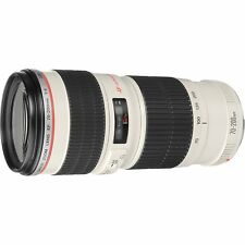 Canon EF Camera Telephoto Zoom Lens 70-200mm f/4 L USM Ultrasonic White