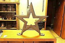 "9 "" Cast Iron Star Mud Boot Scraper Porch Deck Bird Perch"