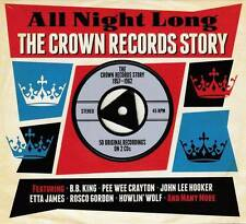 ALL NIGHT LONG - THE CROWN RECORDS STORY 1957-1962 - 50 ORIGINALS (NEW 2CD)