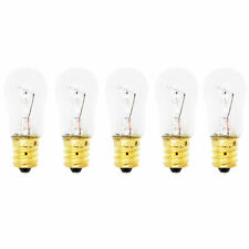 5-Pack Light Bulb for Ge Gsl25Jfpabs, Hss25Gfpjww, Gsh25Jsrfss, Hss25Ifmbww